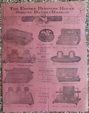 India 1917 illustrated price list Empire Business House Rajkot Office Supplies