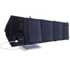 KINGSOLAR 14W Foldable Solar Panel Portable Charger With Dual USB Output 5V*2.1A