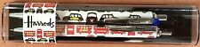 HARRODS LONDON BUS & BLACK TAXI CAB PEN & PENCIL SET BNIB - GREAT CHRISTMAS GIFT