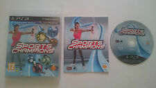 JUEGO SPORTS CHAMPIONS SONY PAL PLAYSTATION 3 PS3 CASTELLANO. BUEN ESTADO.
