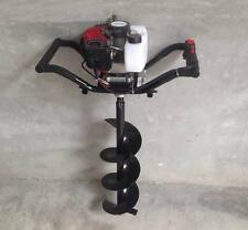 Essence auger drill post hole borer 52 cc + perceuse