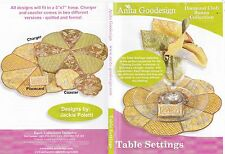 Table Settings Anita Goodesign Embroidery Design CD