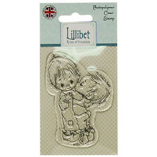 GOODNIGHT KISS - Lillibet Collection Mini Clear Stamp - Trimcraft