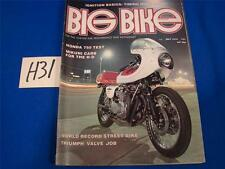 H31 VINTAGE BIG BIKE MAGAZINE MAY 1974 CHOPPERS MOTORCYCLES
