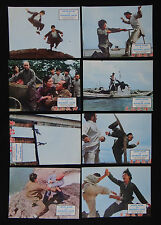 CHINH SIANG LA PANTHERE JAUNE lobby card photo scenario film 1970 KUNG FU Karaté