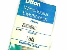 Litton 2HW28D2-111 Card Edge Connector  28/56 Contacts PC Mount NEW