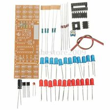 Electronic Strobe Fun DIY Kit Two-color LED Flash Light Fortune Game Circuit