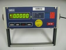 Wika Single Port Pressure Indicator 0-1 Bar Digital Manometer 909.09.2094 FH47