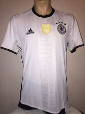 adidas Germany White/Black 2016/17 Home Jersey SIZE (S)