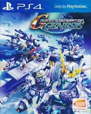SD Gundam G Generation Genesis (English version) PS4 Game PHYSICAL w/ DLC