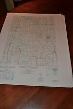 1940's Army topographic map Rose  New York -Sheet 5670 III NW