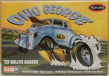 1933 33 OHIO GEORGE DRAG RACING WILLYS GASSER MALCO POLAR LIGHTS MODEL KIT