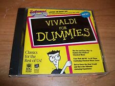 (2) Vivaldi & Handel For Dummies Classic Music CDs Composer Biography Jukebox