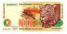 South Africa ...P-127b ... 200 Rand ... NL.(1999) ... *VF/XF*.