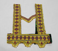 Kuchi Afghan Banjara Belly Dancing Handmade Vintage Beaded TOP Bolero TOP BT-06