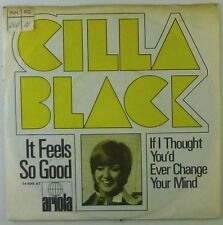 "7"" Single - Cilla Black - It Feels So Good - S962h - RAR - washed & cleaned"