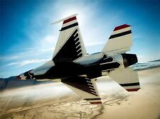 MILITARY AIRCRAFT FIGHTER THUNDERBIRD PLANE JET POSTER ART PRINT PICTURE BB1250A