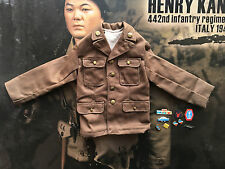 Soldier Story Henry Kano 442nd Infantry 1943 Brown Jacket loose 1/6th scale