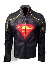 Batman vs Superman Dawn of Justice Superhero Cosplay Jacket Leather Costume
