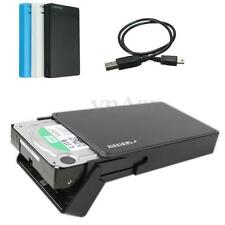 SEATAY USB 2.0 SSD 2.5'' SATA Enclosure Caddy Case For SSD HDD Hard Drive Disk