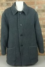 Vintage Brooks Brothers Wool Men's Coat Jacket Made In England Size Large