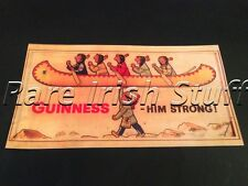 Guinness Him Strong - Native Indian Irish Stout Pub & Bar - Ireland Print