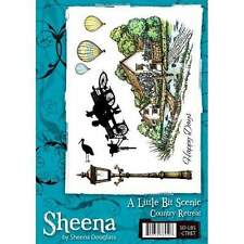 A Little Bit Scenic COUNTRY RETREAT A5 Rubber Stamp Set by Sheena Douglass