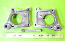 Rickman NOS Honda CR 750 Left & Right Foot Peg Mount Plates p/n R101 72 603 /604