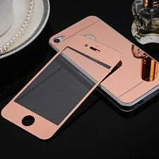 MIRRORED FRONT BACK 100% GENUINE TEMPERED GLASS COVER IPHONE SCREEN PROTECTOR