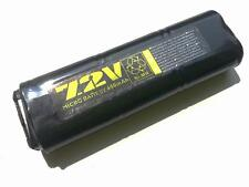 Ni-MH Battery 7.2V 450mAh for AEP Marui MP7 VZ61 Mac10 - WELL R4 R2 - JG Mac10