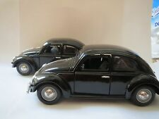 Sunnyside Love Bug Diecast 1:24 WOB VW55 SS770 BLACK - WITHOUT FRONT BUMPER