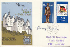 Escaping Society ES1c  Colditz Castle Signed Airey Neave Escaped from Colditz