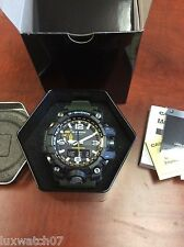 New Casio G-Shock  GWG1000-1A3 Mudmaster Tough Solar Triple Sensor Men's Watch