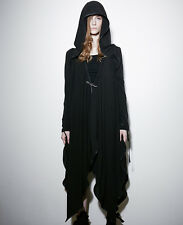 Punk Rave PY-134 Black Gothic Mantle Cloak Witch Gown Jacket Witchery Top Coat