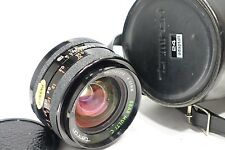Tamron 24mm f2.5 BBAR Multi C lens, Adaptall 2 camera mount system