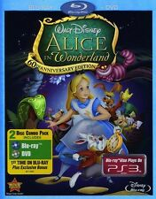 Alice in Wonderland [60th Anniversary Edition] [2 Discs]  Blu-ray Region A