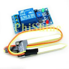 12V Relay Controller Soil Moisture Sensor Automatically Watering for Arduino