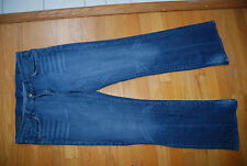 Blue Denim CITIZENS FOR HUMANITY Kelly #001 Stretch Low Waist Boot Cut Jeans 31