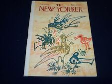 1964 MAY 2 NEW YORKER MAGAZINE - BEAUTIFUL FRONT COVER FOR FRAMING- O 5015