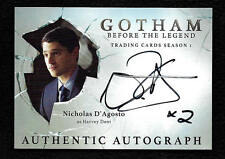 Gotham season 1 Autograph card #ND Nicholas D'Agosto as Harvey Dent