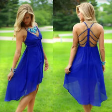 LM Boutique Sale New Sexy Blue Dress Large 2 Day Free Shipping