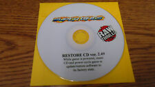 FAST AND FURIOUS SUPERBIKES RAWTHRILLS RECOVERY DISK CD V2.49 FOR DELL/ MICROTEL