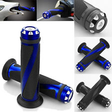 7/8 22mm Motorcycle Motorbikes Aluminum Rubber Hand Grips Handlebar Sports Bike