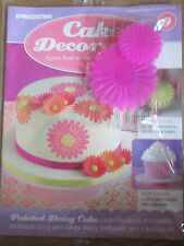 Deagostini Cake Decorating Magazine ISSUE 9 - WITH 2 X DAISY EMBOSSERS