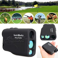 600M Waterproof Laser Range Finder Hunting Golf Distance Meter Speed Measurer