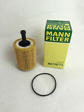 Mann-Filter hombre filtro aceite hu719/7x made in Germany Audi VW skoda golf touran