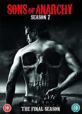 SONS OF ANARCHY SEASON SERIES 7 DVD R4 Seven New & Sealed