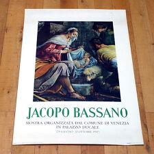 JACOPO BASSANO poster manifesto affiche Manierismo Arte Palazzo Ducale Venezia