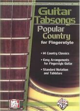 MEL BAY POPULAR COUNTRY FINGERSTYLE Play GOD BLESS THE USA Guitar Music Book