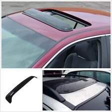 "36""Smoky Black Car Sunroof rain shield Visor Wind Deflector impact Transmittance"